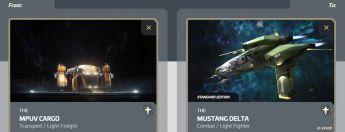 Cargo to Mustang Delta Upgrade