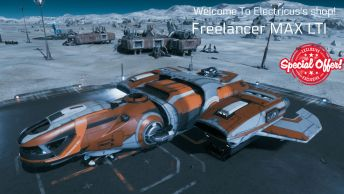 Freelancer MAX LTI CCUed Standalone Ship