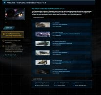 Package- Exploration Mega Pack - LTI with 10* LTI ships