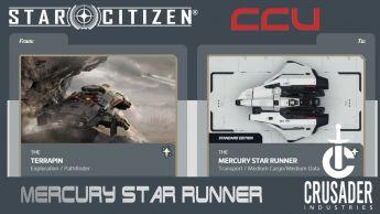 CCU: Terrapin to Mercury Star Runner