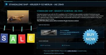 Standalone Ship - Kruger P-52 Merlin - IAE 2949