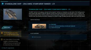 2943 MISC Starfarer Tanker - LTI - Original Concept