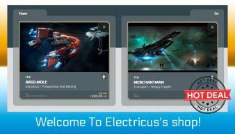 Argo Mole to Merchantman Upgrade CCU