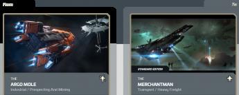 Argo Mole to Banu Merchantman upgrade (CCU)