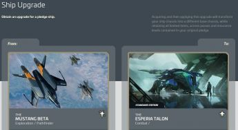 Mustang Beta to Esperia Talon Upgrade