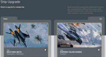 Mustang Beta to Esperia Talon Shrike Upgrade
