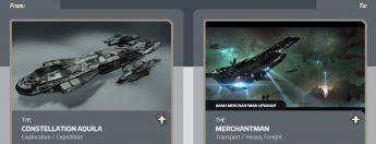 Aquila to Merchantman Upgrade