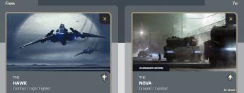 Hawk to Nova Tank Upgrade