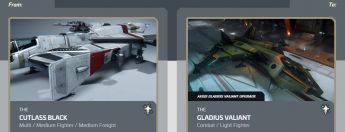 Cutlass Black to Gladius Valiant Upgrade