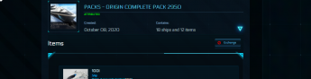 Star Citizen Grand Admiral Account With Origin Ship Pack with LTI