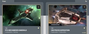 Archimed Emerald to C8X Pisces Expedition Upgrade