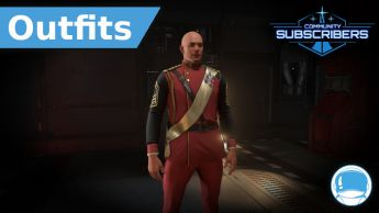 Second Tevarin War Red Dress Uniform - Outfit - Subscriber
