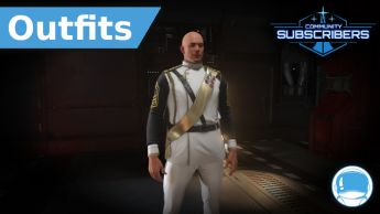Second Tevarin War White Dress Uniform - Outfit - Subscriber