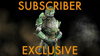 "A Overlord ""Predator"" Armor Set - Subscribers Exclusive"
