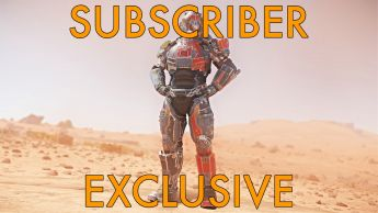"A Overlord ""Supernova"" Armor Set - Subscribers Exclusive"