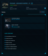 Capital-Heavy and F7A Hornet Upgrade Wing Commander Account