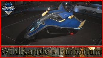 Aegis Avenger Series - Invictus Blue and Gold Paint