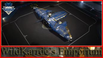 MISC Reliant Series - Invictus Blue and Gold Paint