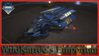 RSI Aurora Series - Invictus Blue and Gold Paint
