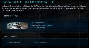 Avenger Titan LTI Original Concept