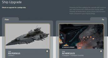 Upgrade RSI Perseus to A2 Hercules