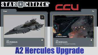 Upgrade - RSI Perseus to A2 Hercules Starlifter (CCU)