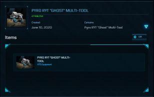 """Pyro RYT """"Ghost"""" Multi-Tool"""