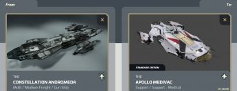 Andromeda to Apollo Medivac Upgrade