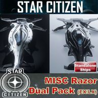 MISC Razor Package - LX & EX + LTI (Lifetime Insurance)