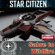 Aegis Sabre to Hornet Wildfire Upgrade (CCU)
