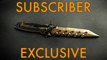"""A Sawtooth """"Sirocco"""" Combat Knife - Subscriber Exclusive"""