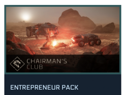 Entrepreneur Pack (Chairman's Club game package)