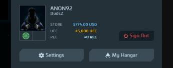 Star Citizen Account w/ $774 Store Credits