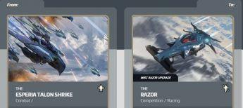 Esperia Talon Shrike to Razor