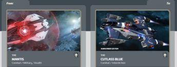 Mantis to Cutlass Blue Subscriber Upgrade