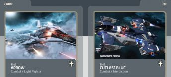 Arrow to Cutlass Blue Subscriber -Upgrade