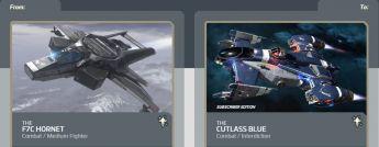 Hornet  to Cutlass Blue Subscriber Edition