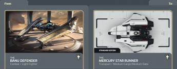 Banu Defender to Mercury Star Runner Upgrade