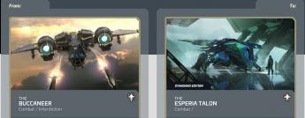 Buccaneer to Talon-Upgrade