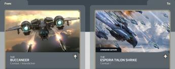 Buccaneer to Talon Shrike-Upgrade