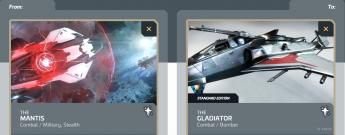 Mantis to Gladiator