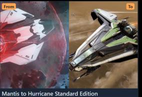 Mantis to Hurricane Upgrade