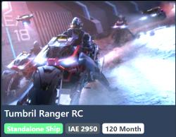 Tumbril Ranger RC 10y ins.