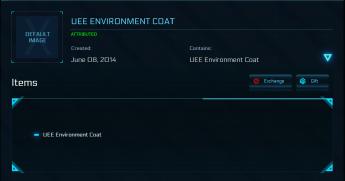 UEE Environment Coat
