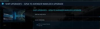 325a To Avenger Warlock