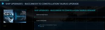 Buccaneer to Taurus