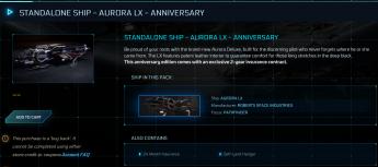 Aurora LX Anniversary