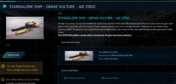 Drake Vulture IAE