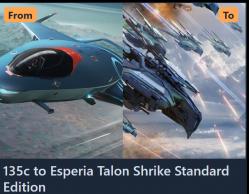 135c to Talon Shrike