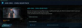 Cnou Gear Pack